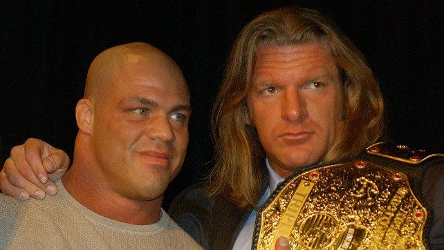 WWE Universe Votes HHH & Kurt Angle As Most Likely Veterans To Become World Champion In 2018 - Wrestlezone  ||  WWE Universe Votes HHH & Kurt Angle As Most Likely Veterans To Become World Champion In 2018 http://www.mandatory.com/wrestlezone/news/911909-wwe-universe-votes-hhh-kurt-angle-as-most-likely-veterans-to-become-world-champion-in-2018?utm_campaign=crowdfire&utm_content=crowdfire&utm_medium=social&utm_source=pinterest