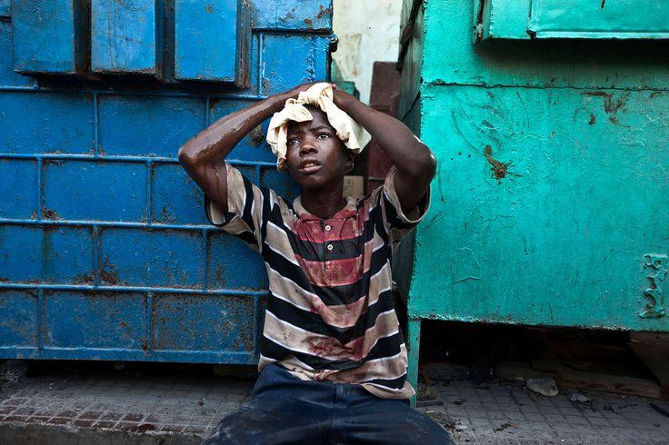 Retrato Documental. Jonathan Torgovnik. Terremoto de Haiti.
