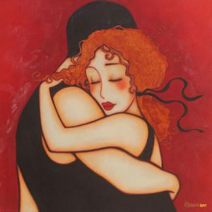 """Made by: Corinne Reignier , """"Embrace"""""""