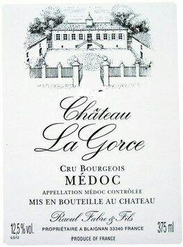 Château La Gorce Cru Bourgeois 2008