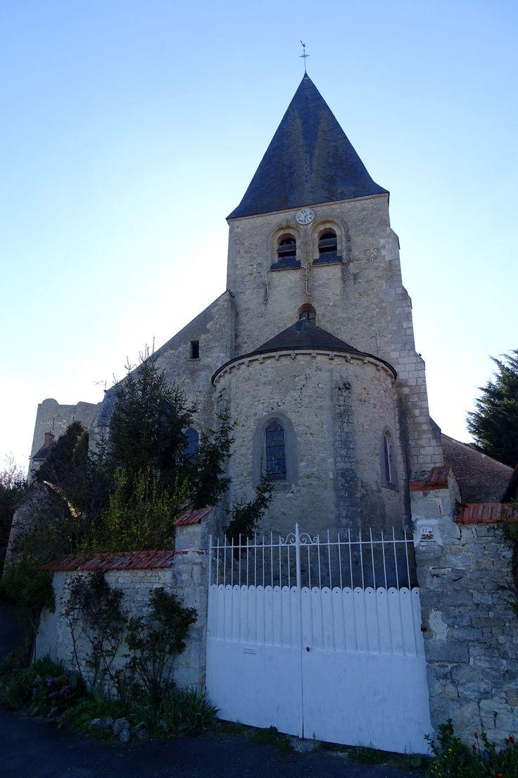 Eglise Saint-Gault, Yevre le Chatel