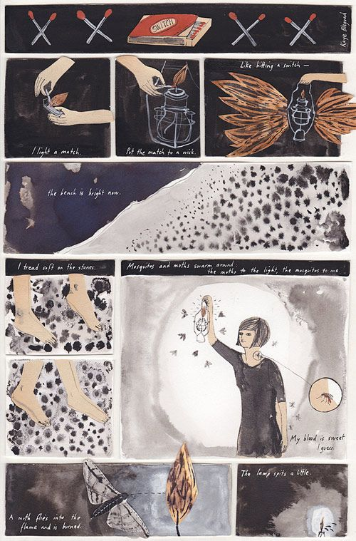 Kaye Blegvad, sequential art, instructional graphics