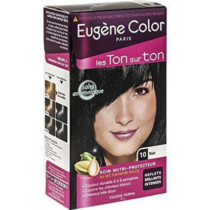 eugne color les ton sur ton n10 noir coloration ton sur - Coloration Ton Sur Ton