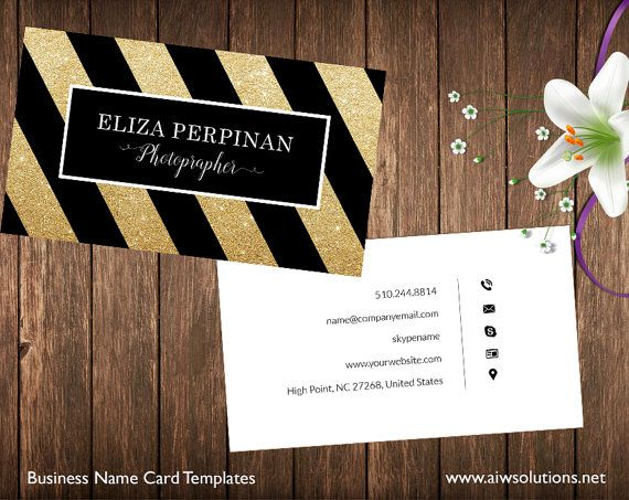 Simple Business Card Template Name Card Template by aiwsolutions. Simple Business Card Template, Name Card Template, Photography name card, elegance business card,minimal business card, black and white card www.aiwsolutions.net #diy, #businesscard , #namecard