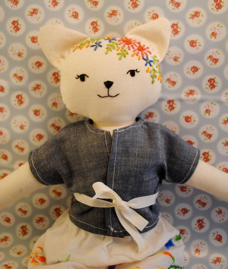 Bambola gattina di BamboleCo su Etsy
