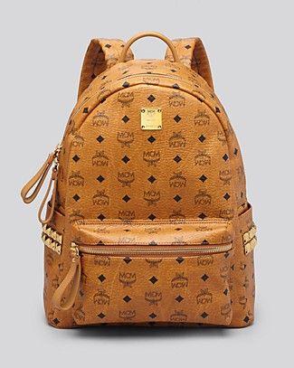 MCM Backpack - Medium Stark With Side Studs PRICE: $620.00 @Bloomingdale's