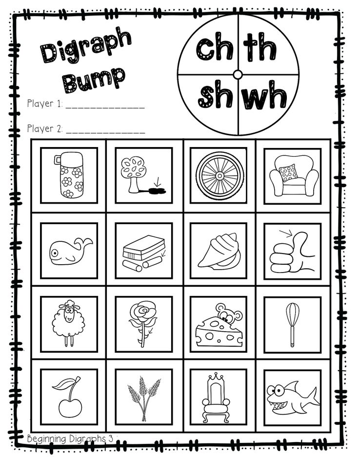Printable Worksheets ch sh th worksheets : 31 best Teaching images on Pinterest | Bump, Phonics and Boards