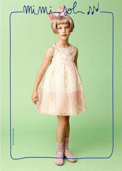While I am wearing this dress I feel like an elegant ballerina...  #MiMiSol #imeldebronzieri #SS2014 #childrenswear #ballerina #pink #sweet #fashion #springsummer2014 #elegance #ribbon