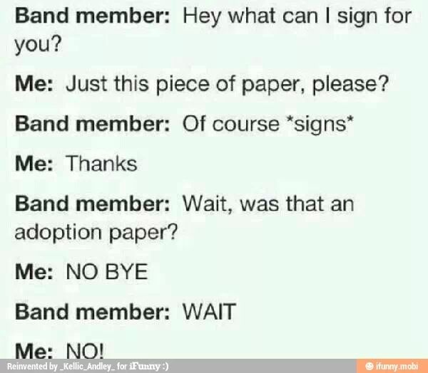 I'd do this to anyone in 5sos or 1d haha. Except Harreh of course bc it'd just be weird to be married to your adopted son haha