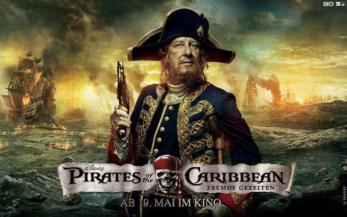 Filmplakat: Fluch der Karibik 4 - Fremde Gezeiten (2011) - Plakat