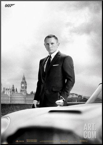 "James Bond Skyfall DB5 | 24"" x 34"""