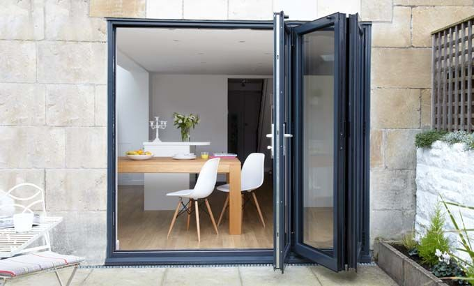 3 panel Bifold door Kitchen ideas Pinterest – Dining Room Doors