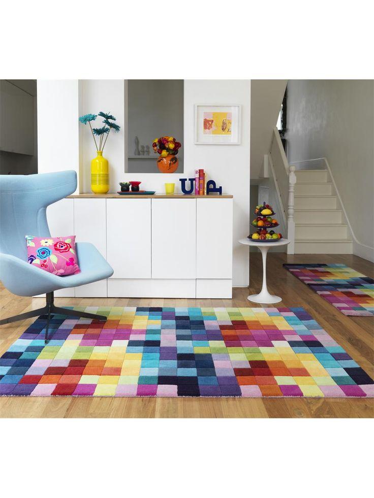 http://www.benuta.de/teppich-boxes-multicolor.html Viele kleine Quadrate bilden das tolle Würfel-Muster des Teppichs Boxes von benuta. Sein Mosaik-Look ist auf moderne Art klassisch und dazu äußerst kombinationsfreudig. Der Teppich wird von Hand aus reiner Wolle getuftet und ist daher besonders weich, warm und hochwertig.