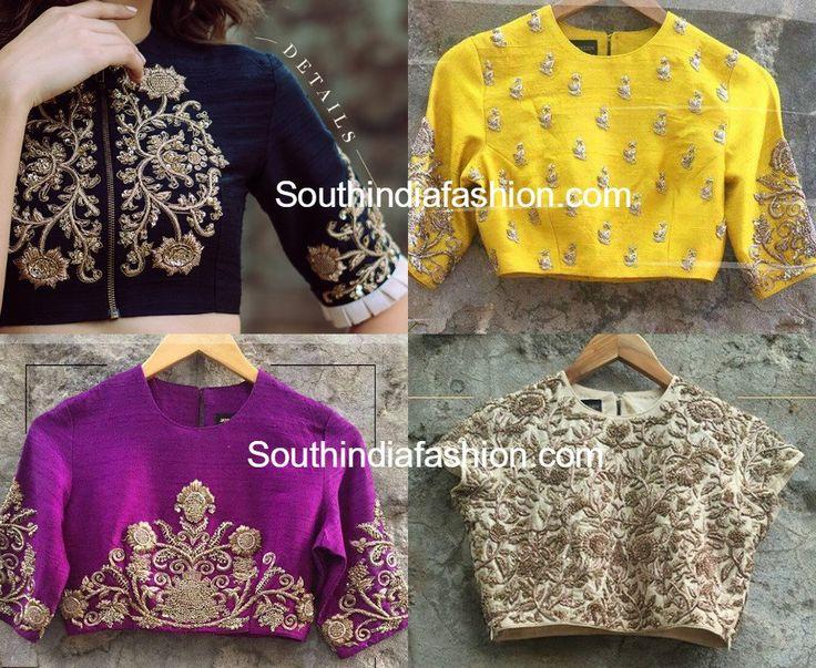 Embroidered Designer Blouses