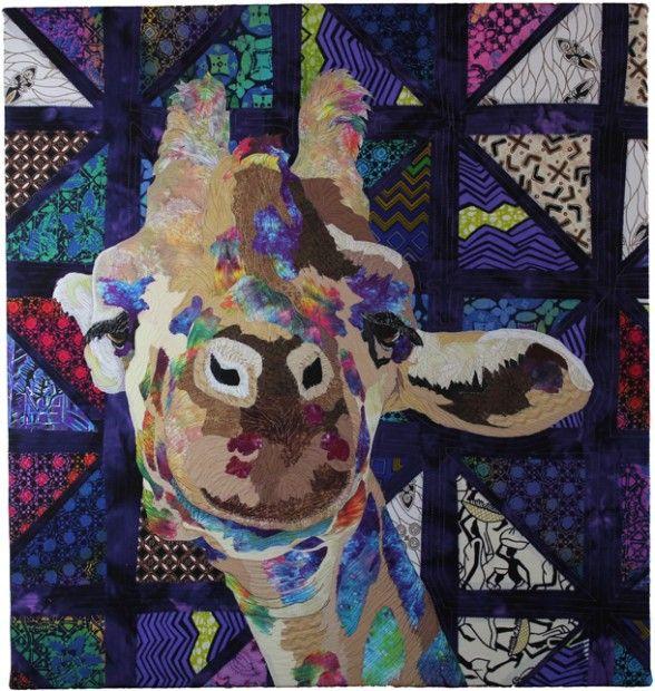 98 best portrait quilts images on Pinterest | Quilt art, Art ... : face quilts - Adamdwight.com