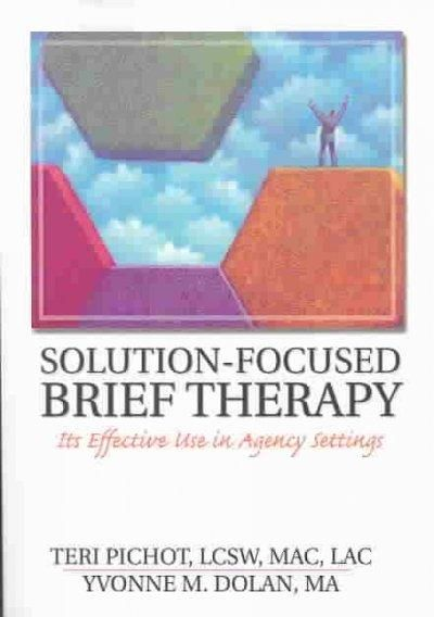 utilizing solution focused brief therapy with Full-text (pdf) | autism spectrum disorder is a growing phenomenon impacting the lives of children and their families although resources in the medical community.