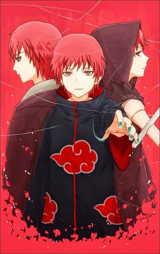 Anime/manga: Naruto (Shippuden) Character: Sasori, creepy guy.