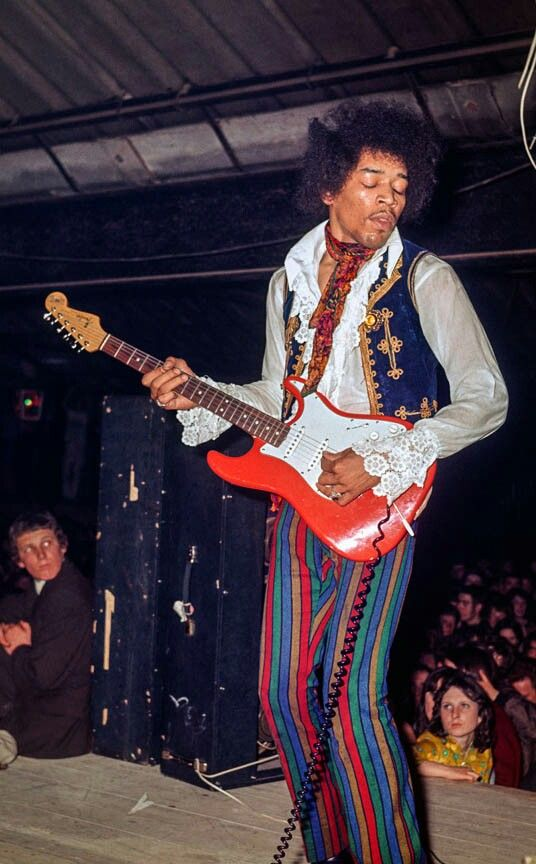 A Rock God Returns With The Jimi Hendrix Slot