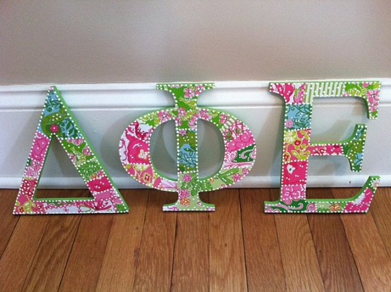 17 best images about sorority decorated letters on pinterest initials delta zeta and kappa delta sorority