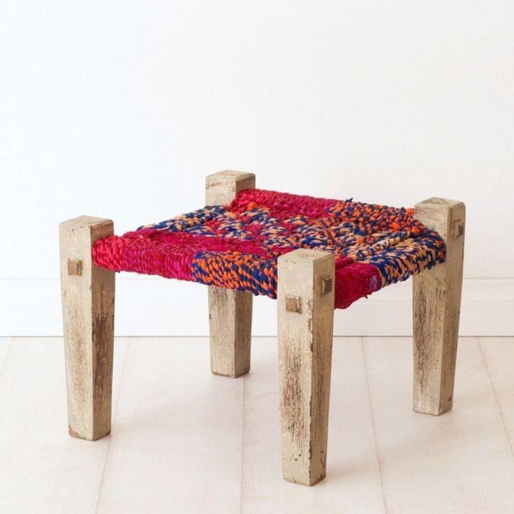 17 meilleures id es propos de tabouret bas sur pinterest for Store en bois tisse exterieur