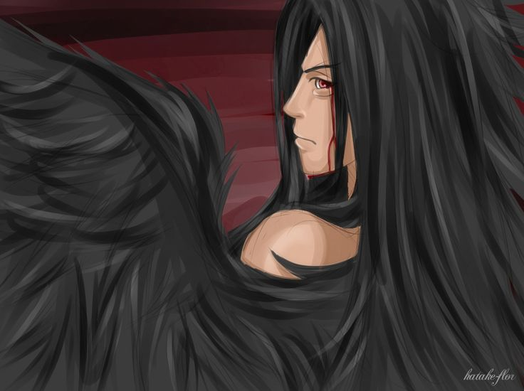 I love to draw Madara with wings.