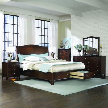 New Home Styles The Aspen Collection King Bed
