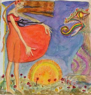 """In dem Artikel stellt Dir Vidensus-Beraterin Sundra das Traumsymbol """"Feuer"""" vor und gibt Dir interessante Einblicke in die Bedeutung. #traumdeutung #traumsymbole #vidensus #kartenlegen #hellsehen #wahrsagen #astrologie #gratisberatung"""