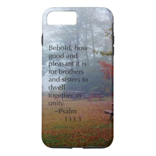"""Unity"" Psalm 133:1 iPhone 7 Plus Case"