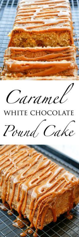 Caramel White Chocolate Pound Cake | eBay