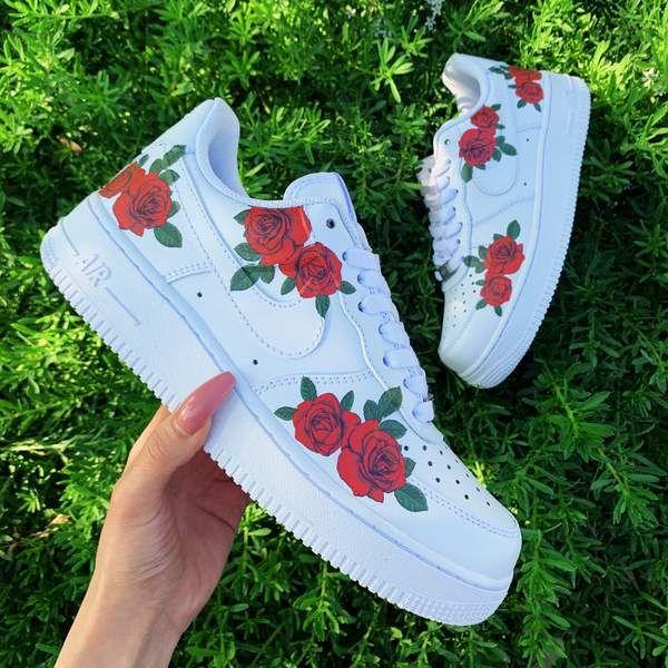 Summer Rose AF1 | Custom shoes diy