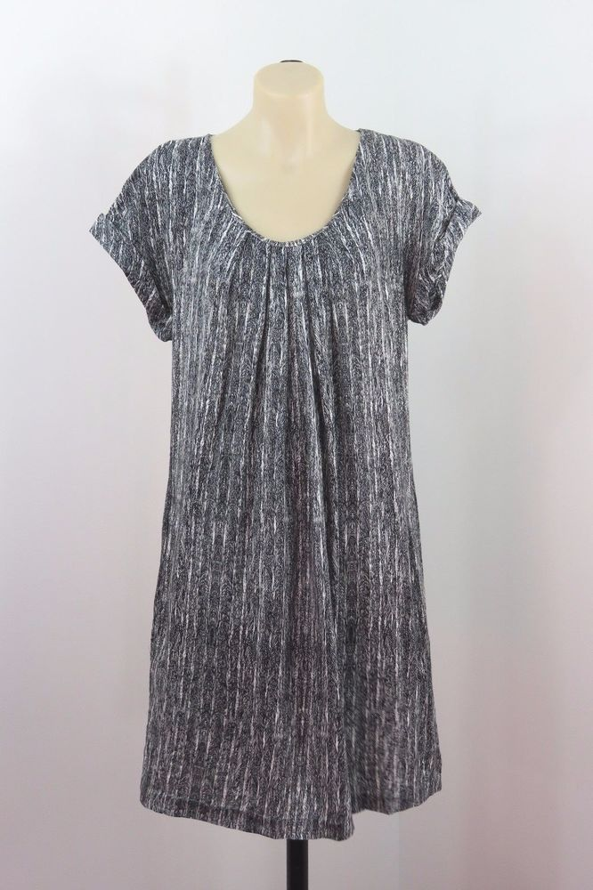 Size M 12 Witchery Ladies Tunic Dress Shift Loose Fit Casual Funky Boho Design #Witchery #Shift #Casual
