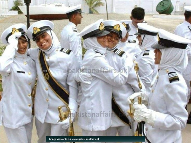 PaKisTaN's NaVaL FeMaLe CaDeTs  !!!!!!!