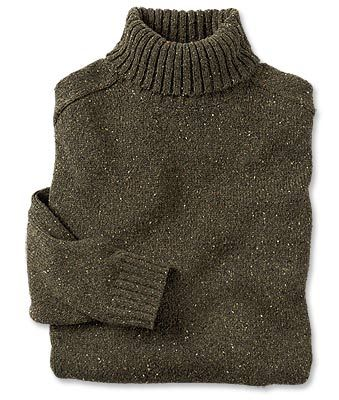 Just found this Mens Turtleneck Sweater - Wool-Cashmere Donegal Turtleneck Sweater -- Orvis on Orvis.com!