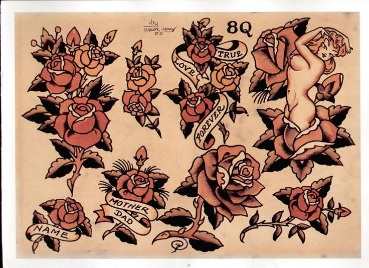 Sailor Jerry Roses, Norman Keith Collins (Sailor Jerry).