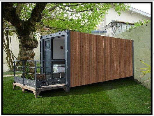 10 best container images on pinterest container houses for Habiter un container