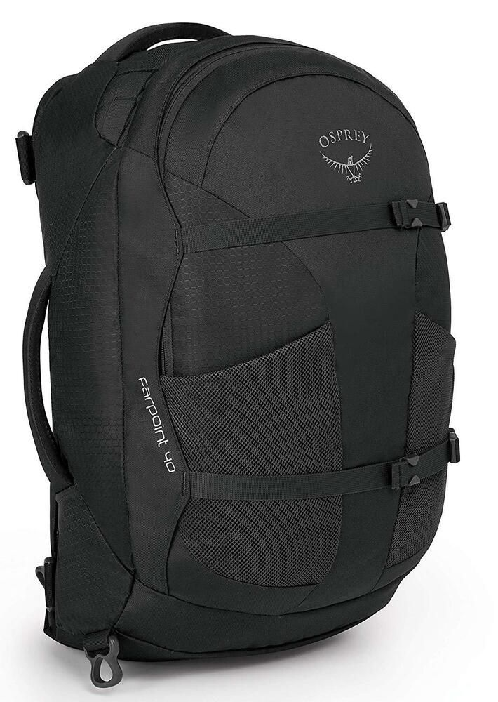 7fed207739b Osprey Packs Farpoint 40 Travel Laptop Backpack Volcanic Grey S M New w   Tag - Travel Backpack  travel  backpack -  148.68 End Date  Sunday  Feb-24-2019 ...