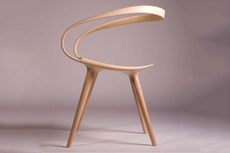 木材の可能性を探る The Velo の椅子