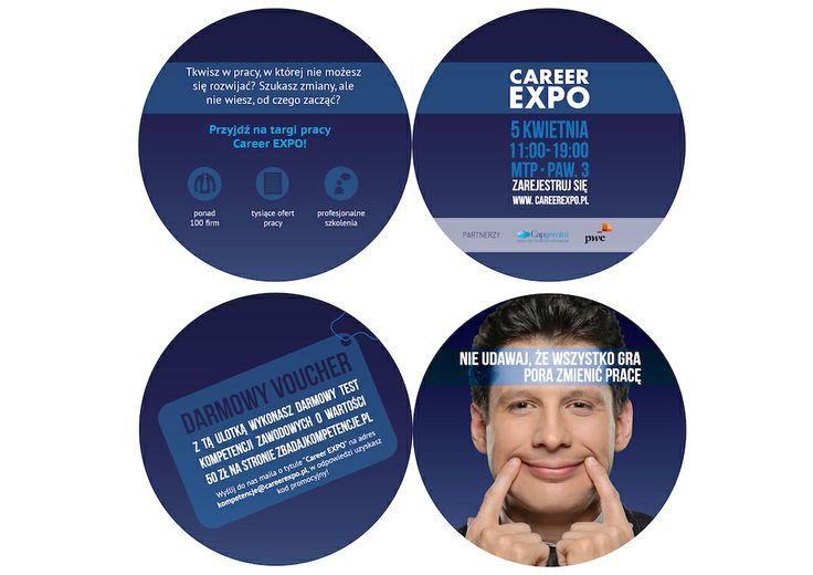 Ulotka Career EXPO, edycja wiosenna (2014)