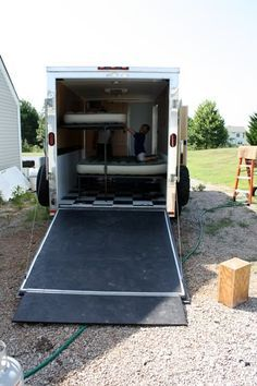 Best 25 Enclosed Utility Trailers Ideas On Pinterest