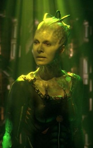 The Borg Queen (Susanna Thompson) from Star Trek: Voyager.