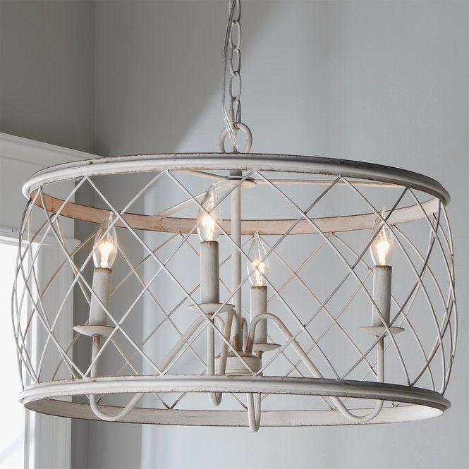 Trellis Cage Drum Chandelier Small Drum Chandelier Semi Flush Ceiling Lights Ceiling Lights