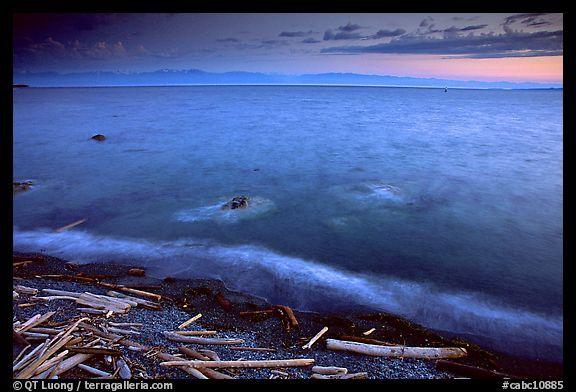 Juan de Fuca Strait, Victoria, British Colombia, Canada