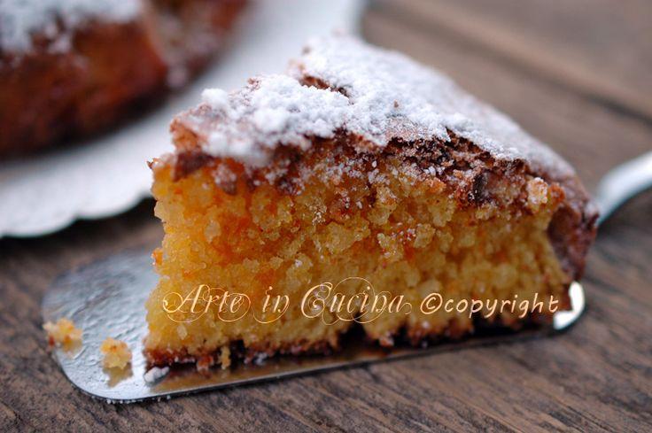 Caprese all'arancia, torta facile, veloce, dolce profumato all'arancia, cioccolato bianco, ricetta veloce, ideale per feste e buffet, dolce all'arancia, natale