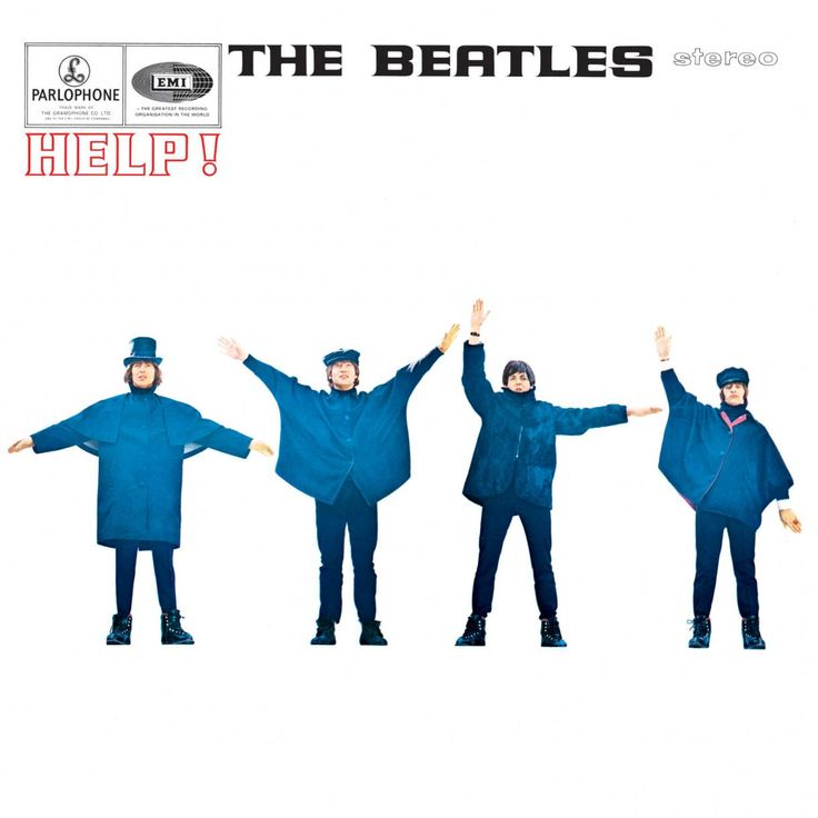 the beatles help album cover - Google Search