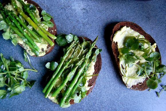 Asparagus Tarts, Asparagus Tartin, Food Cooking, Avocado Asparagus
