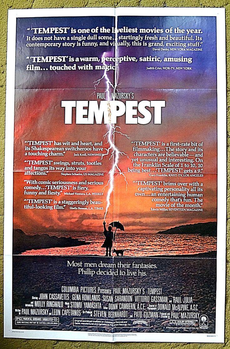 Details about TEMPEST-JOHN CASSAVETES,GENA ROWLANDS,SUSAN ...