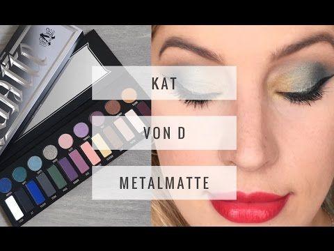 Kat Von D MetalMatte Palette | Review and Tutorial | So Beauty Stuff