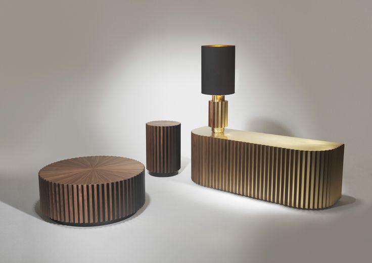 Shadow Cabinet, Coffee Table, Side Table & Table Lamp | #LeeBroom