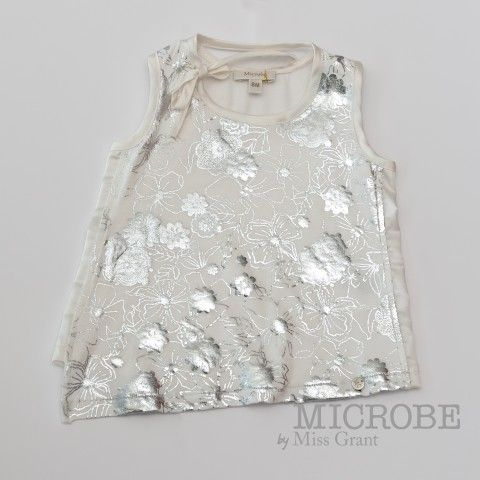 ASYMMETRICAL MAXI TOP WITH SEQUINS. Sale 50% off Spring&Summer Collection!