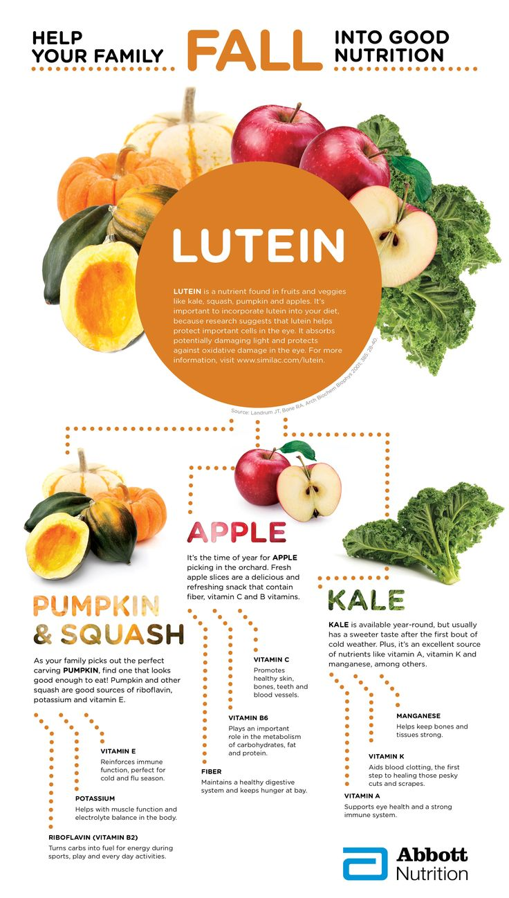 Food and good health - Lutein Is Essential To Eye Health Because It Protects Against Oxidative Damage Apples Kale And Winter Vegetables Like Squash And Pumpkin Are Rich In Eye